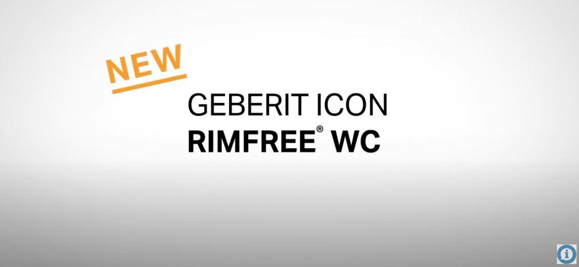 New Geberit iCon Rimfree WC