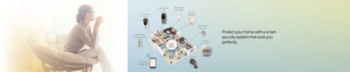 protect your home with Yale smart security system