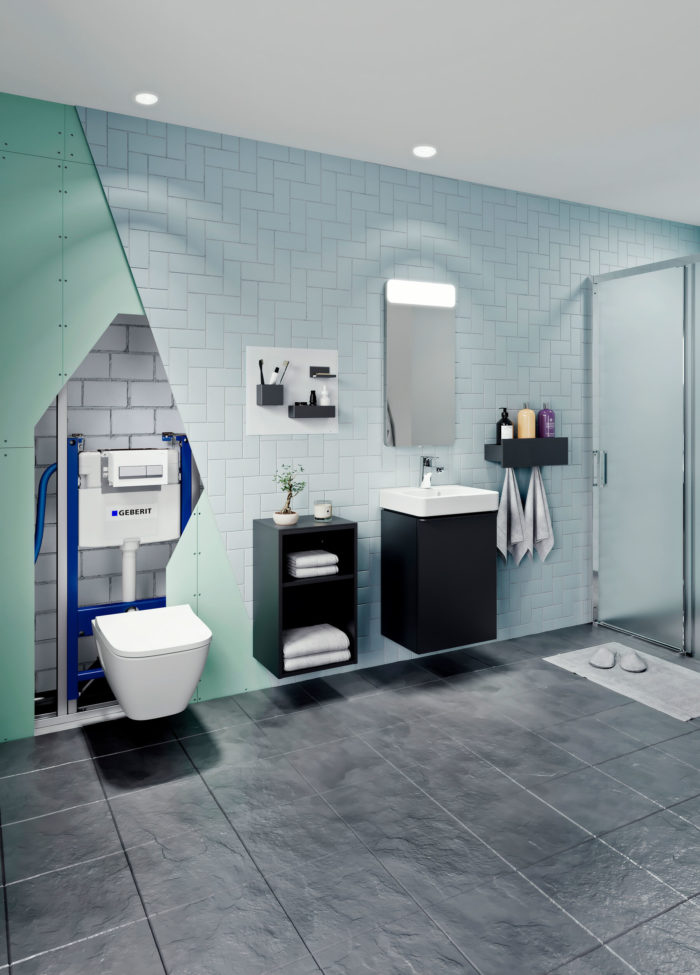 GEBERIT new installation and design possibilities for the entire bathroom