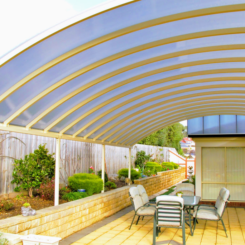 Outdoor roofing solutions can be custom-designed